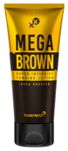 MEGA BROWN Super Intensive Tanning Lotion + Dark Bronzer (Tannymaxx)