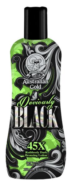 deviously black acc l rateur de bronzage par australian gold. Black Bedroom Furniture Sets. Home Design Ideas